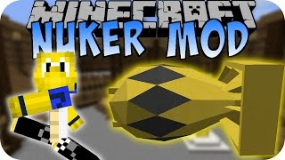 Minecraft NUKER MOD (Nuke, Explosion) [Deutsch]
