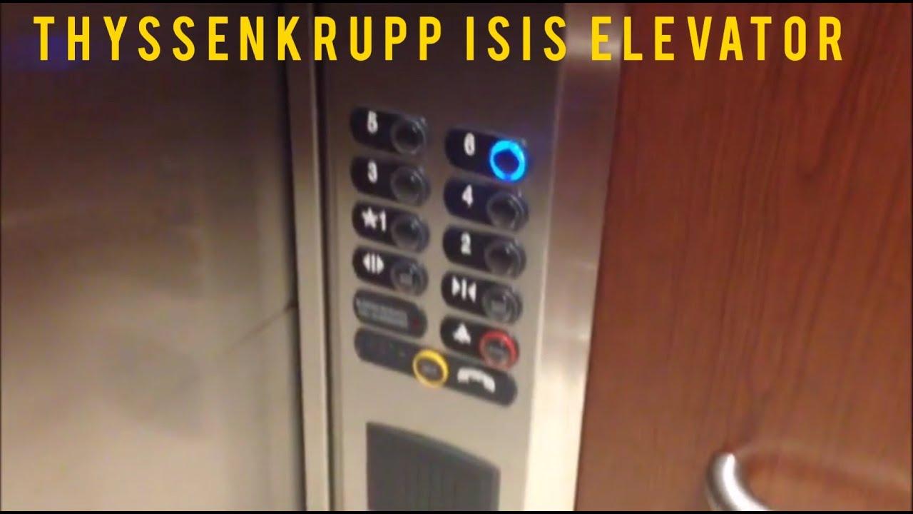 Elevator Hilton Garden Inn Lafayette LA YouTube