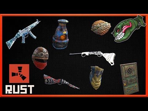 Rust Skins   Glory Bolt, Cold Hunter Mp5, Deep Sea Door, Hazmat Bandanna #111 (Rust Skin Preview) thumbnail