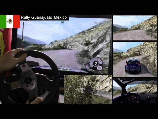WRC 3 Mexico single stage