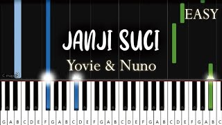 Download lagu Yovie & Nuno - Janji Suci | EASY Piano Tutorial