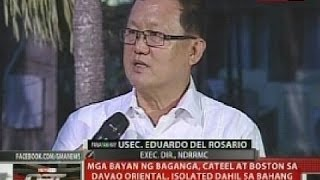 QRT: Mga bayan ng Baganga, Cateel at Boston sa Davao Oriental, isolated dahil sa baha