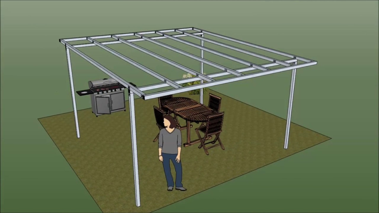 Gazebo libero in ferro pergola in ferro youtube for Gazebo leroy merlin opinioni