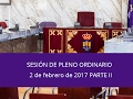 Torres de la Alameda / Pleno Extraordinario 2 de febrero de 2017 Parte II