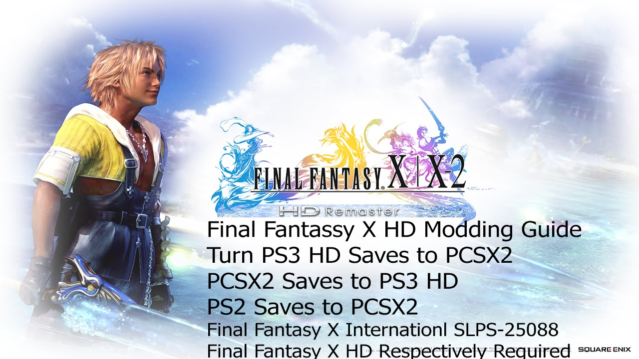 Tutorial] How to use FFXED save editor for FFX HD