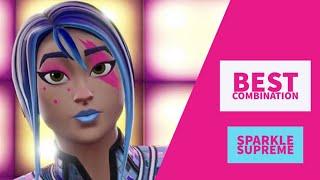Best Combos | Sparkle Supreme | Fortnite Skin Review