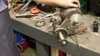 Tool Post Grinder:  Making And Extension Arbor For Inside Diameter Grinding