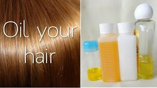 Meine Haarpflege mit Öl