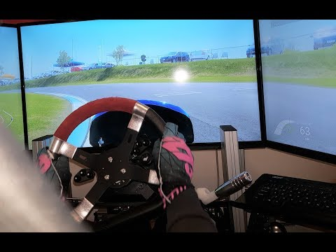 Shifter Kart Simulator!  Fanatec DD2 KartKraft POV
