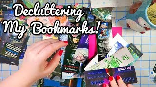 Decluttering My Bookmark Collection!