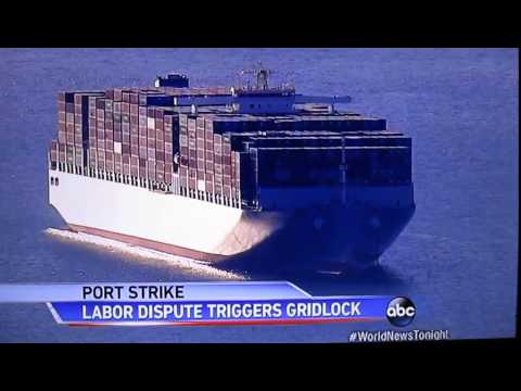 Long Beach port strike