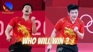 Prediction Final Tokyo Olympics Ma Long vs Fan Zhendong
