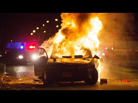 Milwaukee Police Shooting Riots Turn Violent
