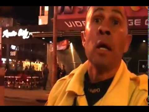 Nevada Cop Block Conversation with LVMPD Sgt Reyes at Insert Coin(s) Protest