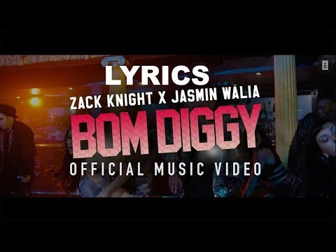 Bom Diggy Diggy | Lyrics | Video | Zack Knight | Jasmin Walia | Sonu Ke Titu Ki Sweety
