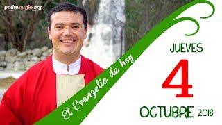 Evangelio de hoy jueves 4 de octubre de 2018