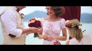 Свадьба на Пхукете с гостями. Евгений и Кристина.
