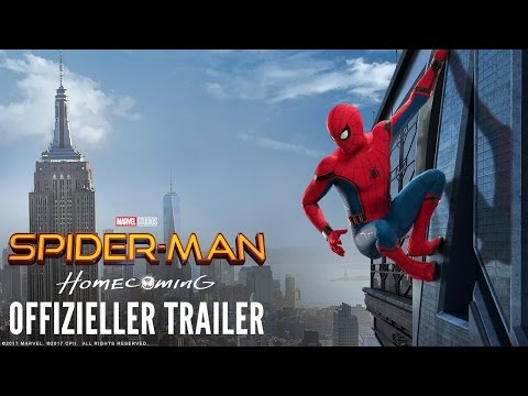SPIDER-MAN: HOMECOMING - Trailer C - Ab 13.7.2017 im Kino!