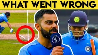 Dhoni's Approach Was Perfect in the Situation: Virat Kohli   India lost in semi final world cup