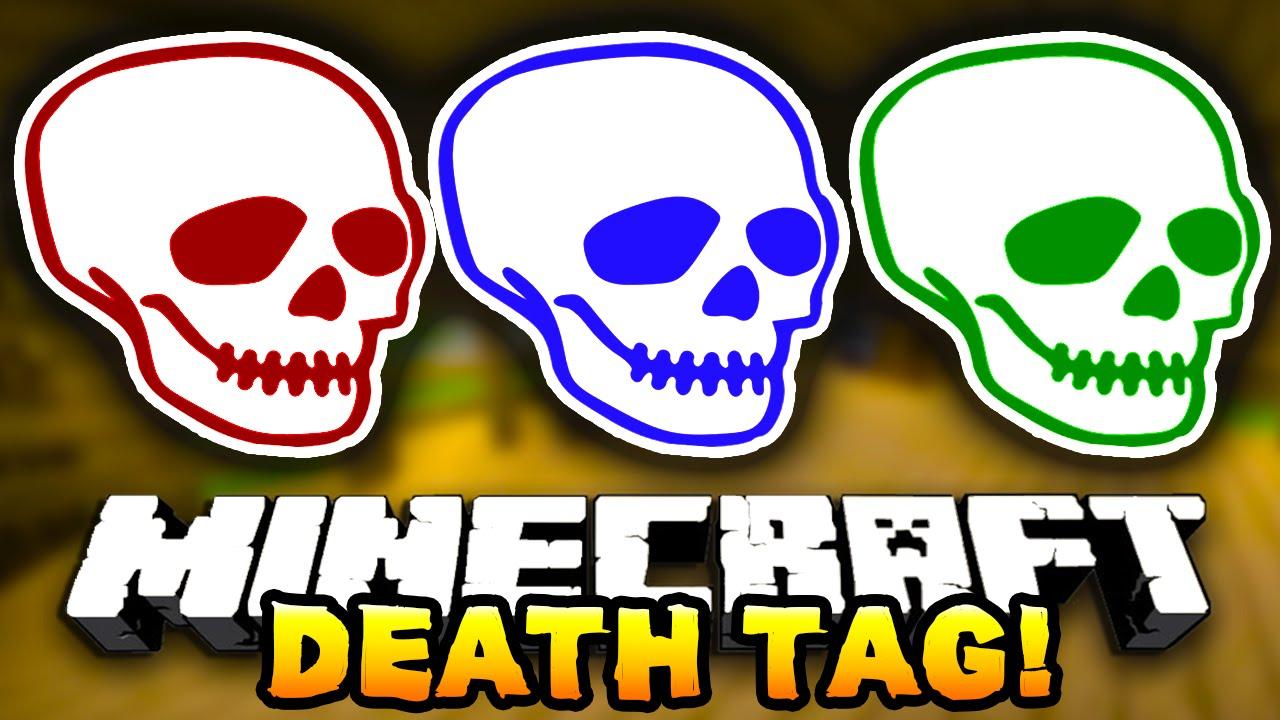 Minecraft Death Tag 4 Funny Mini Game W Preston Jeromeasf