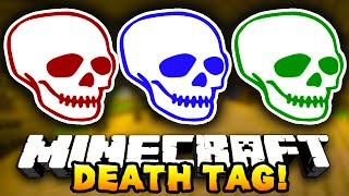 Minecraft DEATH TAG! #4 (Funny Mini-Game!) - w/ Preston, JeromeASF & Choco