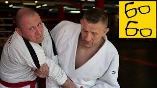 Как выходить на броски в дзюдо и самбо? Борьба в стойке и переводы — урок борьбы Андрея Шидловского