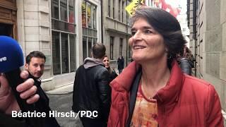 Béatrice Hirsch réagit à son faible score au second tour de l'élection pour le Conseil des Etats