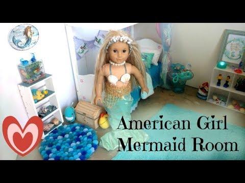 American Girl Doll Mermaid Room Decor
