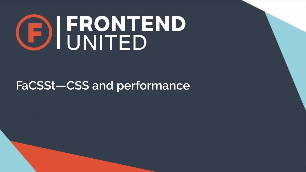 FaCSSt CSS and Performance