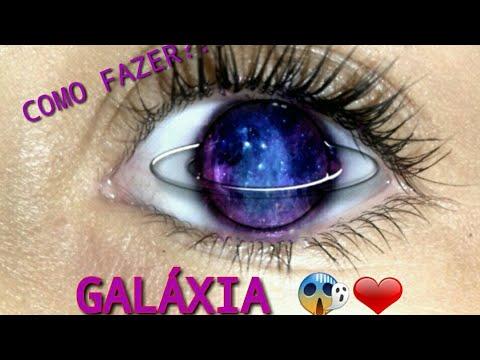 Como Fazer Olho De Galaxia Tumblr Youtube