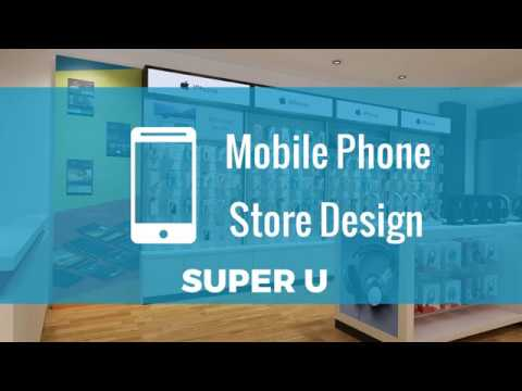 Super U Project Fonebox Mobile Phone Shop Interior Design Youtube
