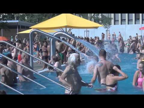 Заметки о Германии открытый бассейн