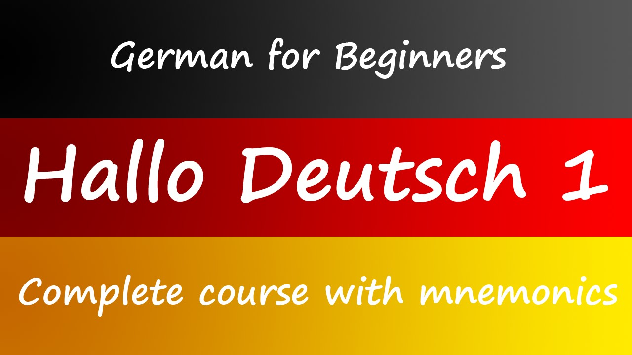German For Beginners Book
