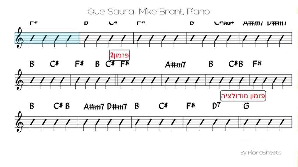 partition guitare qui saura mike brant