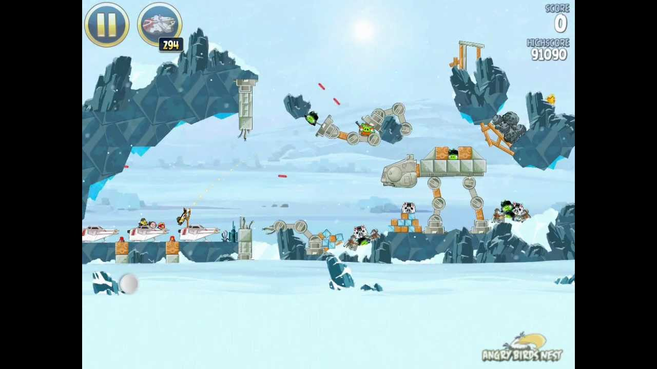 Angry birds Star wars Golden Egg Locations & how to get ...
