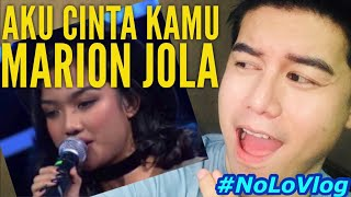 MARION JOLA HAVANA | INDONESIAN IDOL 2018 ELIMINATION | Live Reaksi | NoLo Vlog