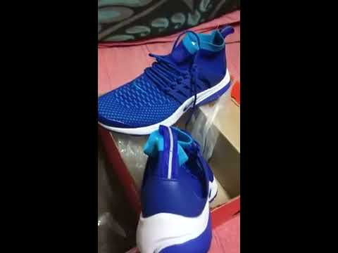 b2801e741ab Unboxing Fake Nike Air Presto Blue Shoe from SnapDeal