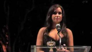 Demi Lovato Honorary Ambassador speech! Full version BOP & Tiger Beat