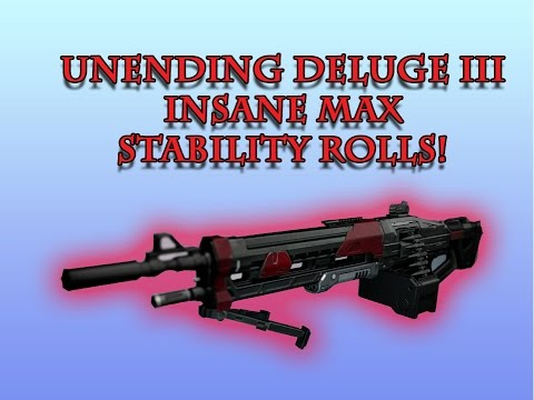 Destiny: UNENDING DELUGE III Legendary Machine Gun - Year 3 Weapon Review