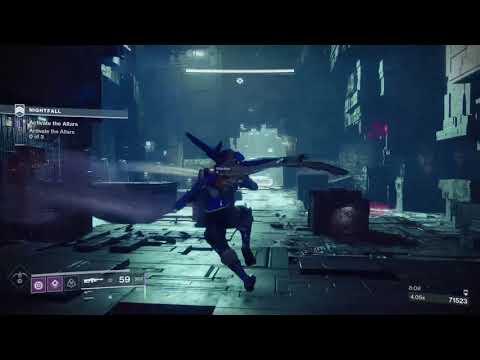 Repeat Destiny 2, Nightfall 100k, No Exotics, 1 Phase, Hunter