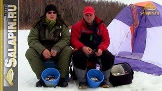 Ловля уклейки весной со льда [salapinru]