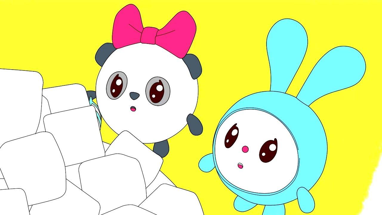Малышарики - Брызгалки | Раскраска для девочек и мальчиков