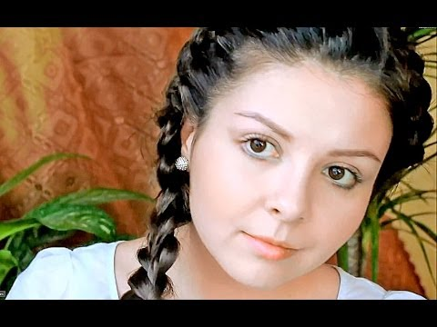 Варианты косичек на длинные волосы, Видео две косы на очень длинные волосы