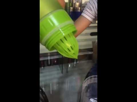 fruit infuser water bottles  lemon squeezer review