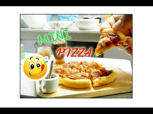 Mini Pizza | Miniature Cooking | Real Food| Ms.Mini-Chin