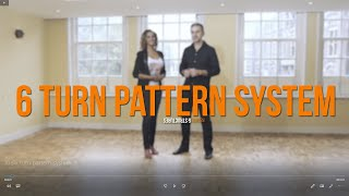 6 Turn Pattern System of Salsa