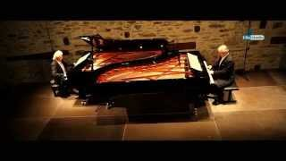 KUTROWATZ KLAVIER DUO - PHILIP GLASS, Four Movements for Two Pianos, Burg Schlaining 2014 Live