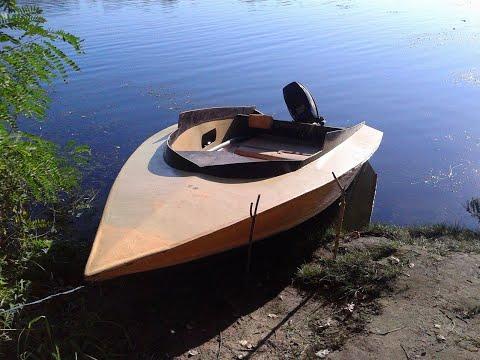 Лодка Радуга 34, мотор Nissan Marine 18