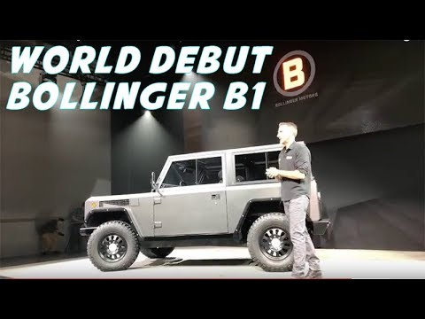World Debut - Bollinger B1 Electric SUV