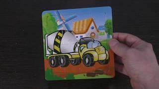 Unpacking parcel - children's puzzle